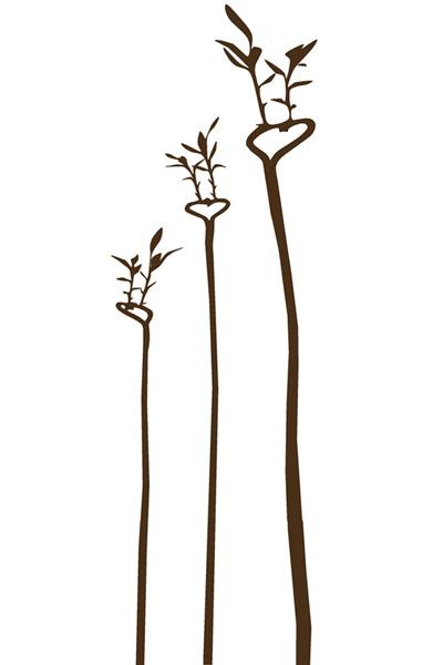stickers muraux d co coeur de bambou stickers nature la paix des m nages. Black Bedroom Furniture Sets. Home Design Ideas