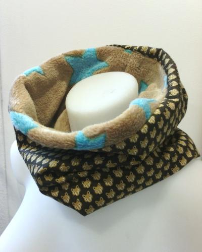 Col écharpe pour enfant